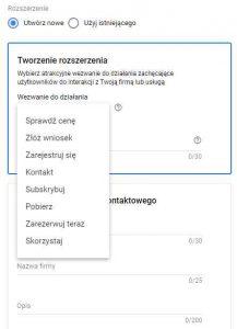 Rozszerzenie formularza kontaktowego